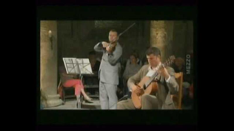 Э.Россфелдер-гитара , Д.Галустов-скрипка