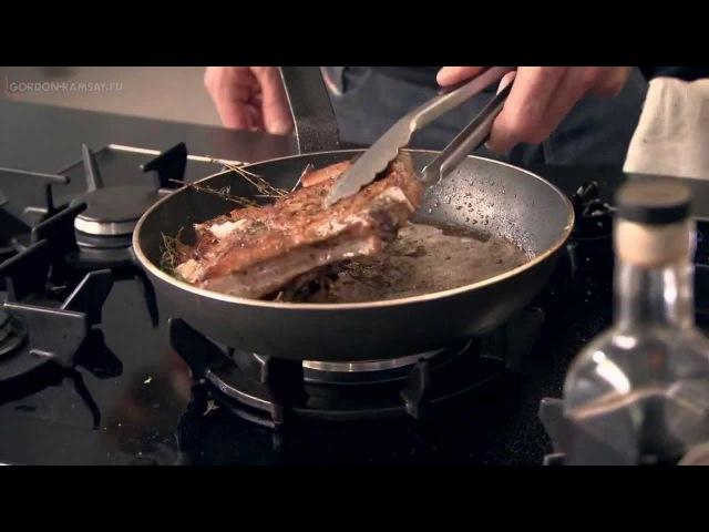 Рецепт от Гордона Рамзи Жареные свиные отбивные с перцем смотреть онлайн без регистрации