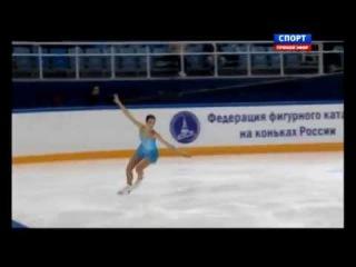 Чемпионат России по фигурному катанию 2015. Женщины. Короткая программа. Полина Коробейникова
