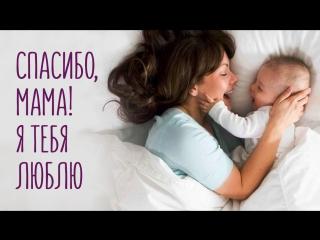 Спасибо, мама! Я тебя люблю!