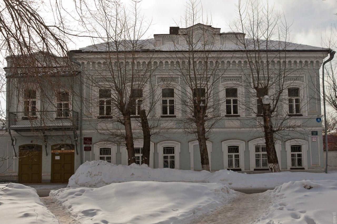 Особняк купца Рыжикова (1890 г.), ныне библиотека