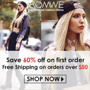 Romwe -Your Online Fashion Wardrobe