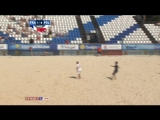 Пляжный футбол / Euro Beach Soccer League Moscow 2015, Россия / Франция - Польша / Первый период