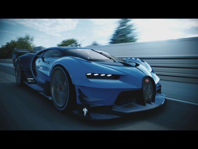 Bugatti Vision Gran Turismo Unveiled