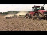 Case IH 470 RowTrac with 45ft Kelly Diamond Harrow