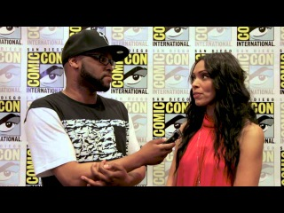 Comic Con 2015 Tamara Taylor from Justice League: Gods and Monsters