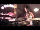 Очаровательная барабанщица DRUM COVER BY MEYTAL COHEN