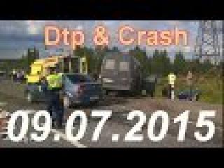 Новая подборка видео аварии дтп происшествия 9 июля 2015 Best Car Crash accident Compilation jule 20