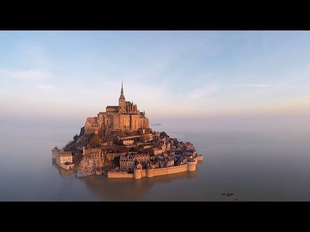 The Magical Mont-Saint-Michel: an Island once more at high tide