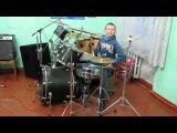 Manowar - Die For Metal  - Drum Cover - Drummer Daniel Varfolomeyev 11 years