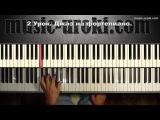 Урок 2. Джаз на фортепиано. Piano jazz tutorial.