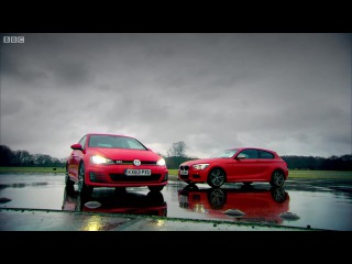 BMW M135 Vs VW Golf GTI - Top Gear - Series 21 - BBC