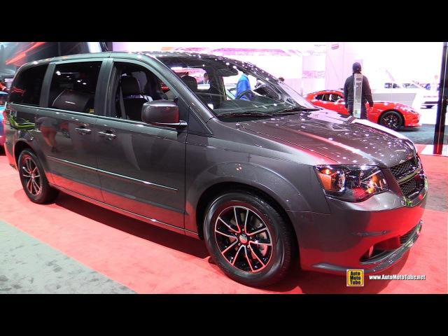 2015 Dodge Grand Caravan Blacktop Package - Exterior and Interior Walkaround - 2015 NY Auto Show