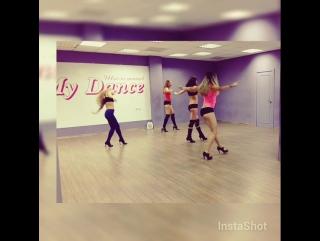 High Heels. Школа танцев My Dance. Учим продолжение танца