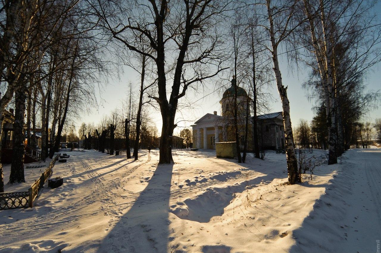 Церковь Рождества Богородицы в городе Чёрмоз, построена в 1829 году