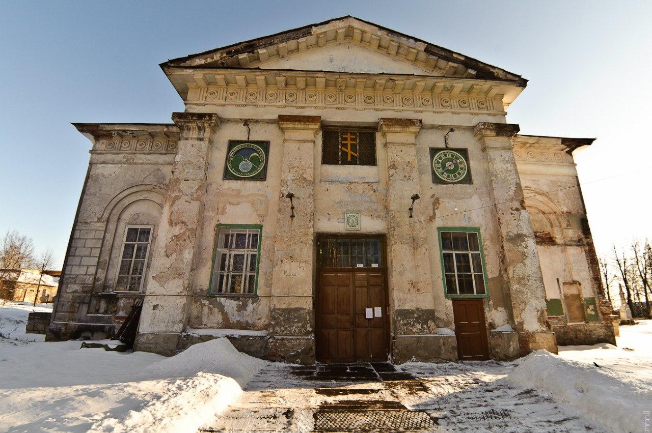 Церковь Рождества Богородицы в городе Чёрмоз