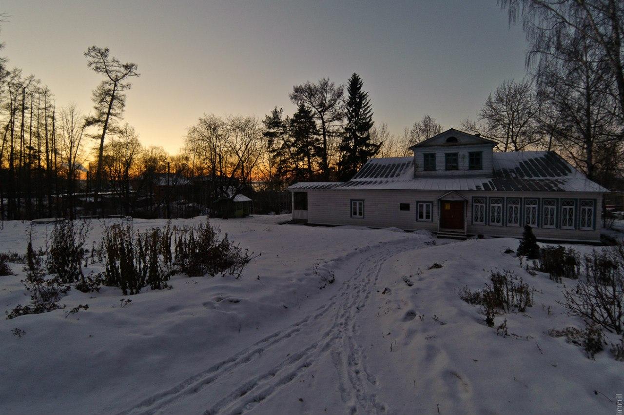 Дом Теплоуховых в Ильинском