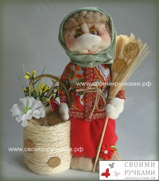 Куклы обереги домовые своими руками