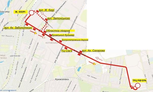 Карта маршрута №4