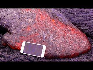 iPhone 6S в горящей лаве. ЭКСПЕРИМЕНТАТОР
