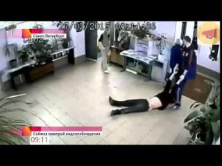 Скандал в Питере Врачи скорой помощи тащили по полу пациента Новости Украины сегодня