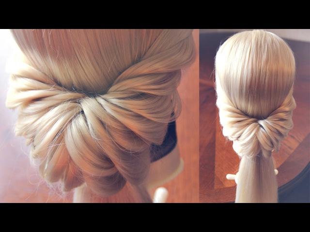 Греческий хвост | Авторские причёски | Лена Роговая | Hairstyles by REM | Copyright ©