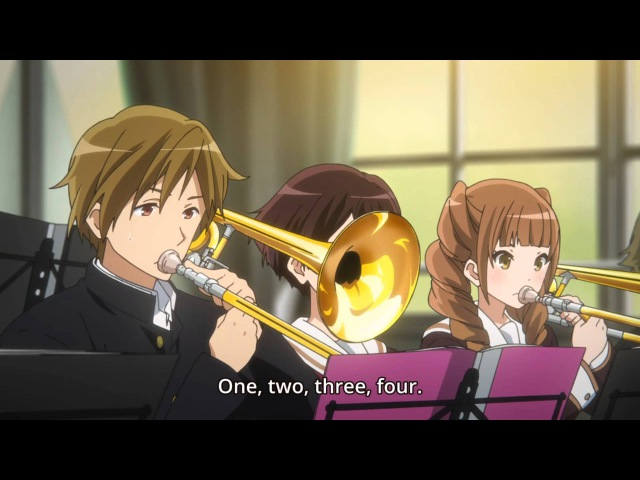 Hibike! Euphonium 03 - Sensei roasting his students