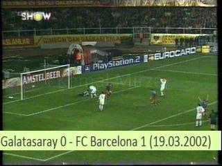 Гол Луиса Энрике (Галатасарай 0-1 Барселона)