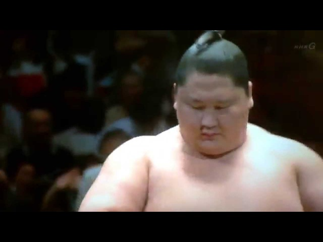 May 2015 Day One Hakuho v Ichinojo