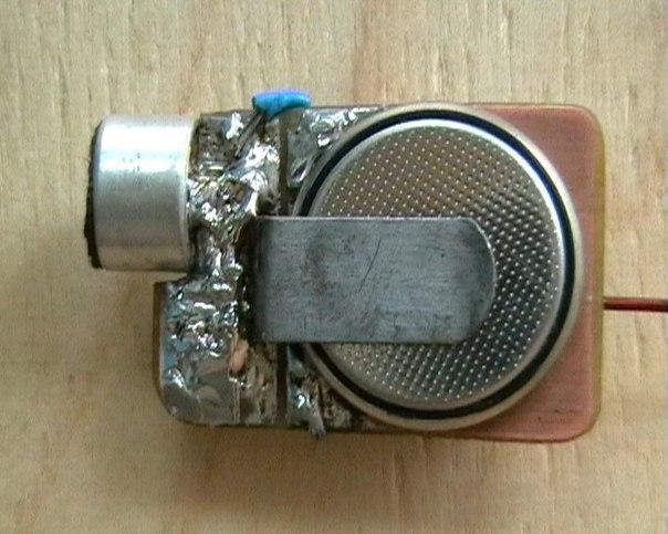 Как сделать жучок для прослушки телефона