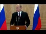 Ведущий чуть не умер от шутки Путина