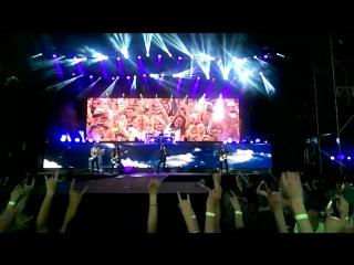 Scorpions - Wind of change (03.06.2015_Нижний_Новгород)