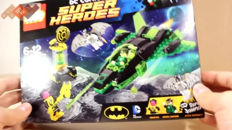 Lego Super Heroes 76025 Лего Супер Герои Зелёный Фонарь против Синестро в продаже на