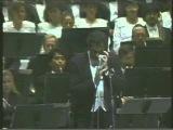 Пласидо Доминго — ария Марио Каварадосси, концерт 1992 г — «E lucevan le stelle» — Пуччини «Тоска»