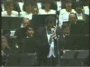 Пласидо Доминго ария Марио Каварадосси концерт 1992 г E lucevan le stelle Пуччини Тоска