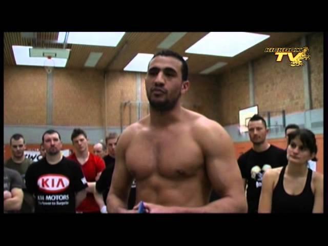 Badr Hari seminar part 1 7 Kickboxing