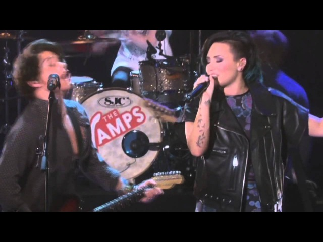The Vamps ft. Demi Lovato - Somebody To You (Live The Ellen Show)