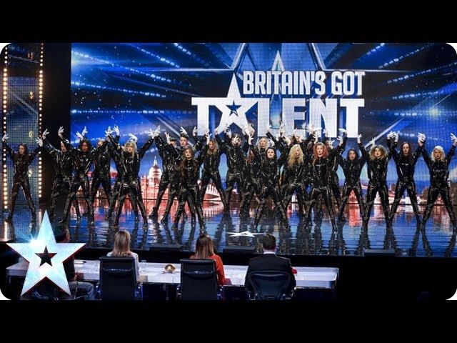 Refreshingly evil dance troupe: The Addict Initiative | Britain's Got Talent 2014
