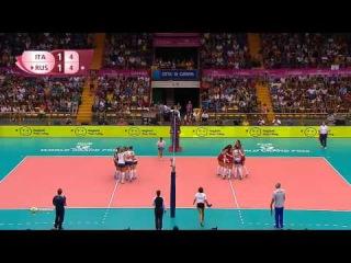 Волейбол / Женщины / Гран-при 2015 / 2-й тур / Италия - Россия