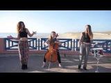 Чудесные голоса этих девушек и мелодичные переливы виолончели создают просто-таки чудесное сочетание