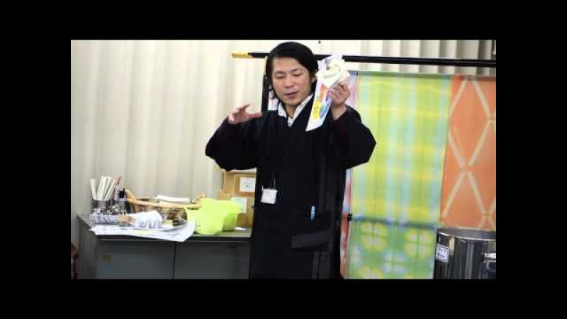 Хобби-тур в Японию. Мастер-класс по шибори