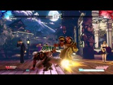 Street Fighter 5 Rashid vs. Karin Gameplay - TGS 2015