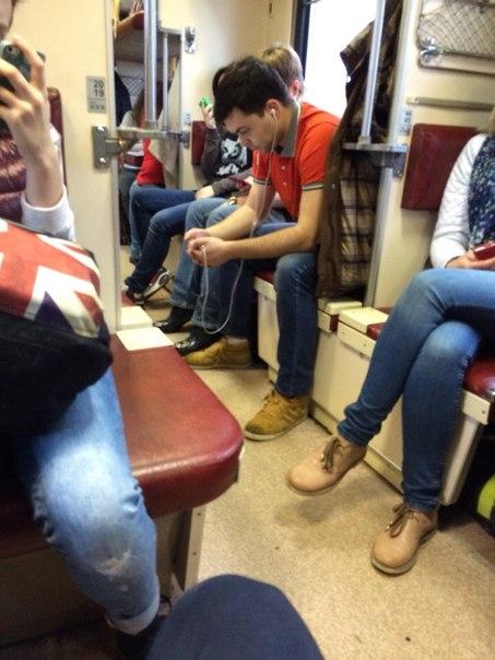 Вчера был нормальный поезд с