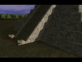 Пернатый Змей оживает: пирамида Кукулькана, п-ов Юкатан, Мексика