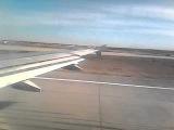 Взелт самолета Airbus A320 из Домодедово в Симферополь