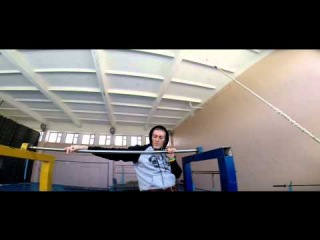 workout in the first person Pilipenko Bogdan