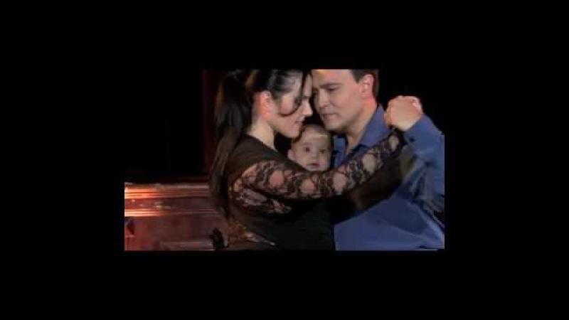 Mi Primer Tango Georgina,Oscar Nicolas Mandagaran bailan Poema