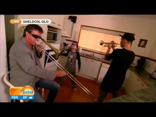 When mom isn't home part 2. A suprise visit from timmy trumpet