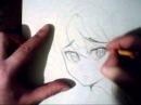 How to draw in manga style.Как рисовать в манга стиле.