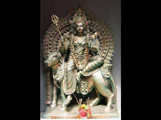 Деви Махатмья гл 7 Убиение Чанды и Мунды durga saptashati